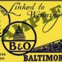 B and O Railroad Wartime Billboard