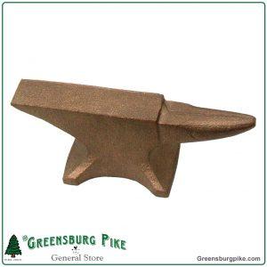 Mini cast bronze jewelers anvil - made in USA