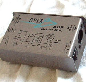 Apex ADP Direct Box for Musicians